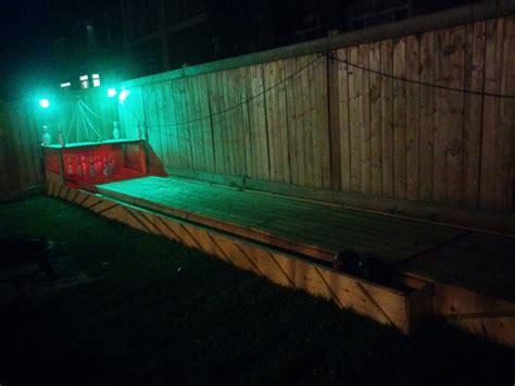 backyard bowling build a semi automatic bowling alley in your backyard