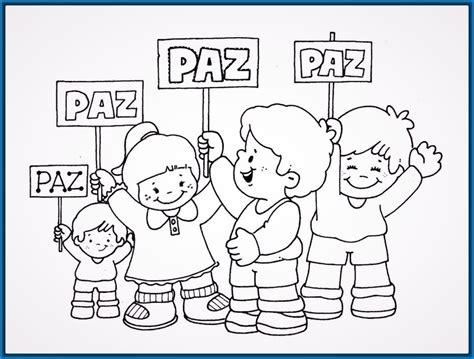 Imagenes Infantiles Sobre La Paz | lindos dibujos faciles para ni 241 os peque 241 os y m 225 s