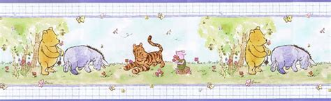 wallpaper classic pooh classic winnie the pooh wallpaper border jc9209b ebay