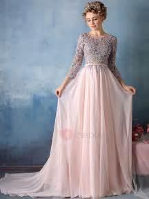 exquisite a line scoop appliques court evening dress