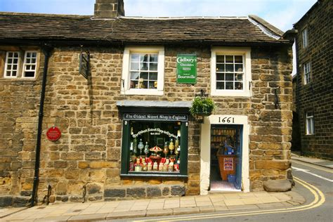 shops in the oldest sweet shop in attraction pateley