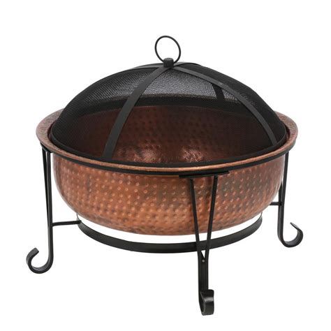 copper firepit creations copper pit ad114 the home depot