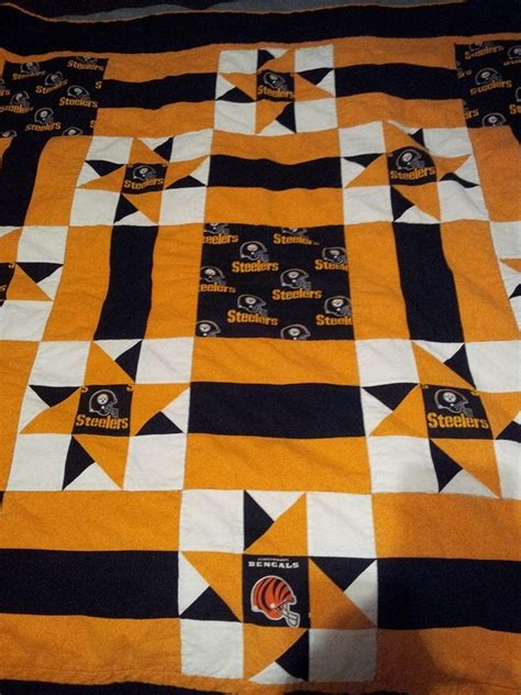 Steelers Quilt by 17 Best Images About Pittsburg Steelers Quilt Ideas On