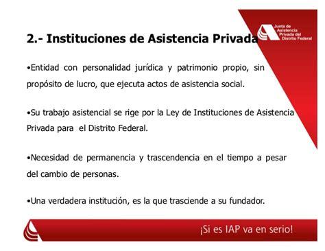 ley de instituciones de asistencia privada del est icnlorg presentaci 243 n rogelio casas alatriste congreso prorp 2009