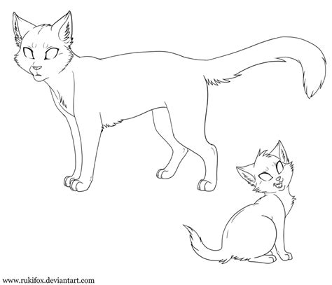 cat drawing template cat template 2013 transparent by rukifox on deviantart