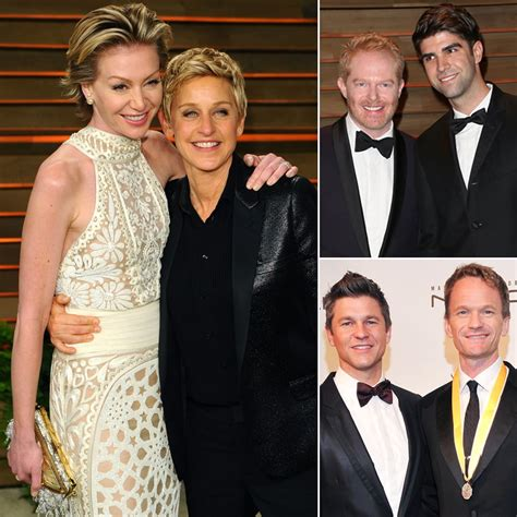 celebrity couples with older wife famous gay couples who are engaged or married popsugar