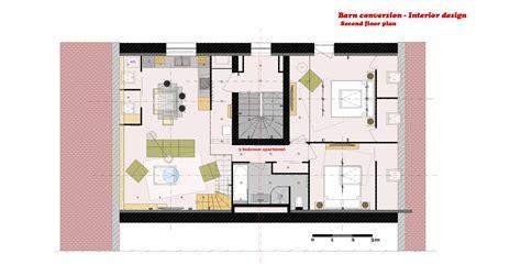 barn conversion floor plans arcbazar viewdesignerproject projectinterior designs designed by marina dil barn