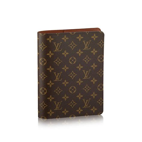 Cover Desk by Louis Vuitton Desk Agenda Cover Monogram Canvas Small Leather Goods R20100 Pm2 Front View Jpg