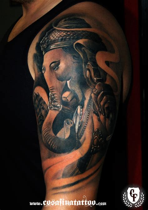 ganesh tattoo disrespectful cosafina tattoo carlos art studio noviembre 2014