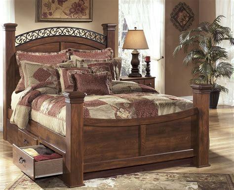 timberline bedroom set timberline bedroom set from ashley b258 coleman furniture