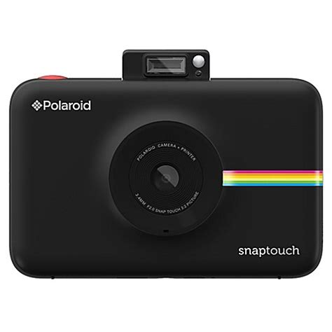 buy polaroid snap touch instant digital camera in black