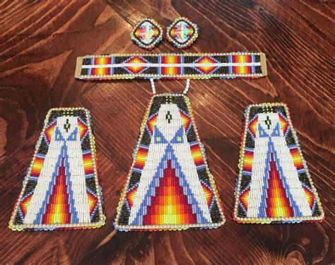 beadwork sets powwow beaded s set beadwork