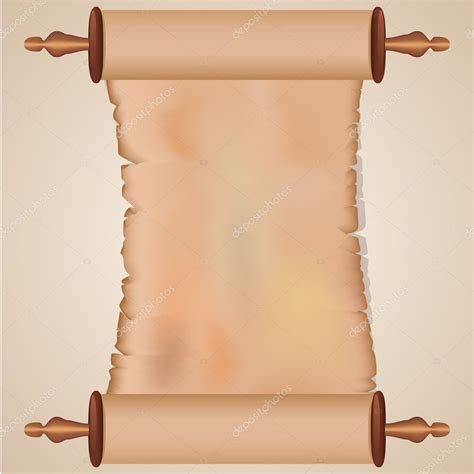 Ancient Scroll Stock Vector 169 Jelome 4956401 Ancient Scroll Template