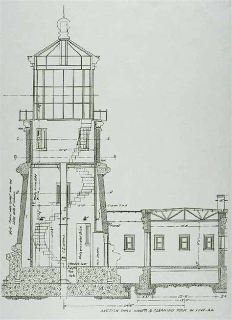 architect designs lighting the lake split rock lighthouse two harbors