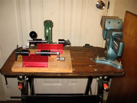 small reloading bench small or portable reloading bench gunner forum