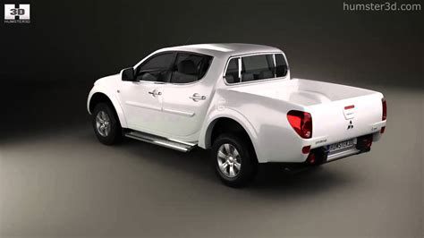 mitsubishi triton 2012 mitsubishi l200 triton double cab 2012 by 3d model store