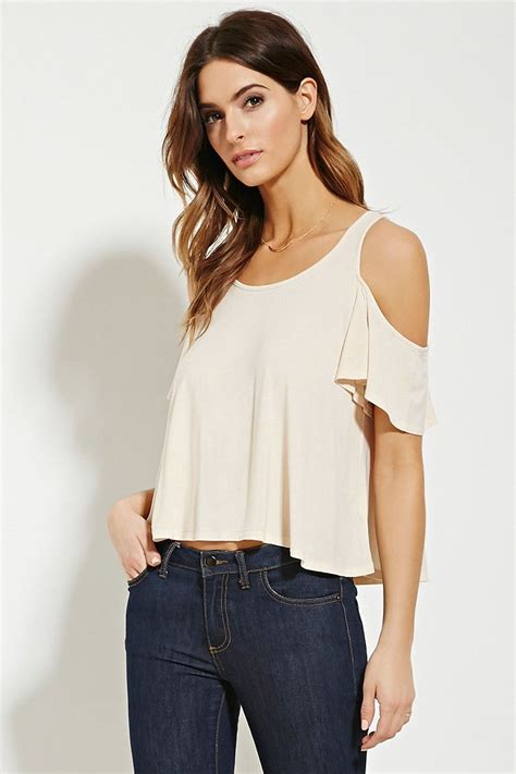 Open Shoulder Top contemporary open shoulder top love21 2000152619 my
