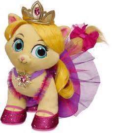 Disney palace pets plush at build a bear