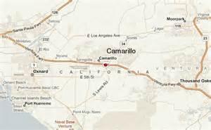 where is camarillo california on a map camarillo location guide