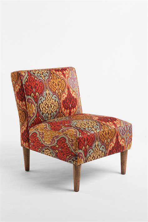 ikat slipper chair slipper chair rainbow ikat