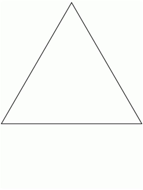 Simple Shapes Page 2 Donut Simple Shapes Coloring Pages Triangle Tree Coloring Page