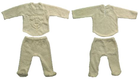 Overall Set 1 cp16 fleece babies overall set