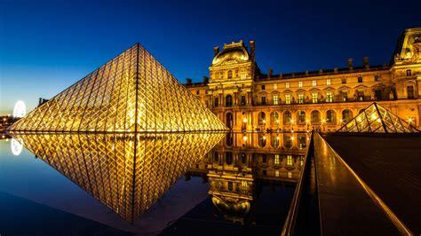 wallpaper louvre museum france paris tourism travel