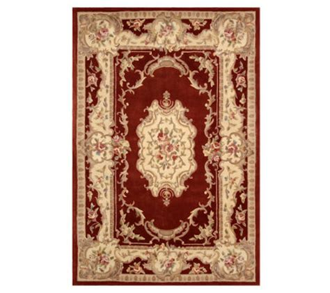 royal palace handmade rug royal palace marquis 6 x9 handmade wool rug h07479 qvc