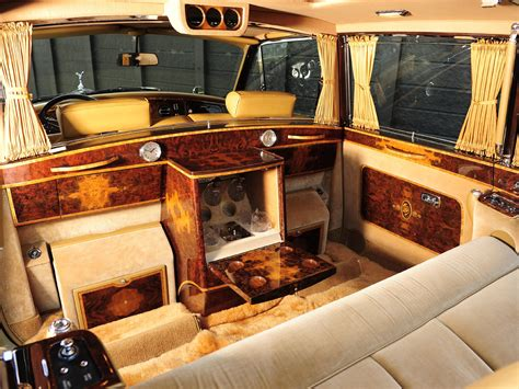 luxury rolls royce interior 1992 rolls royce phantom vi landaulette luxury interior f