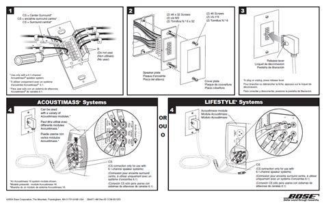 bose acoustimass 7 wiring diagram trusted wiring diagrams acoustimass 10 series iv connections to receiver n bose community