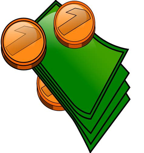 money clipart money coins and bills clip at clker vector clip