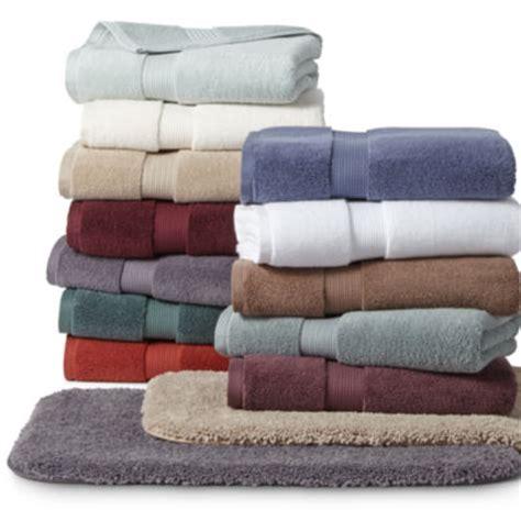 Bath Towels Royal Velvet Royal Velvet 174 Premium Cotton Solid Bath Towels Jcpenney