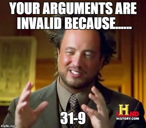 Because Aliens Meme - ancient aliens meme imgflip