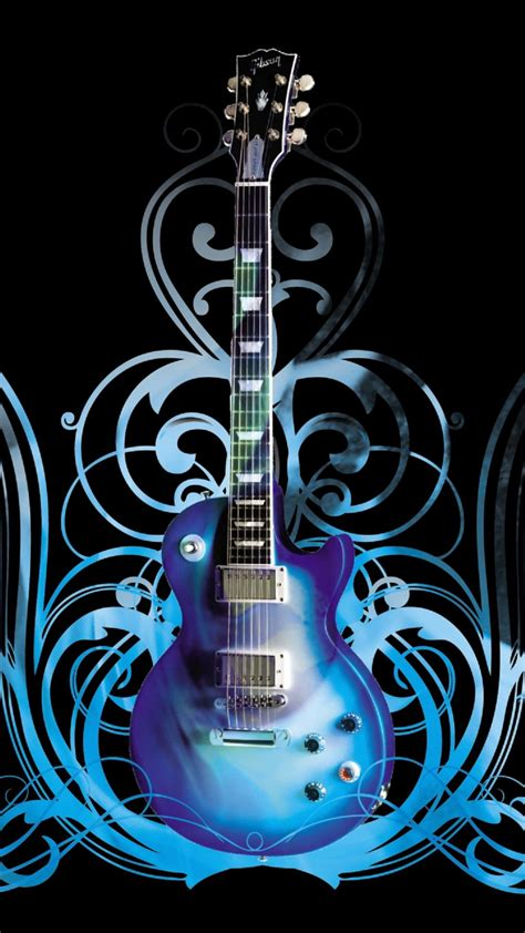 wallpaper android guitar guitar abstract swirls background android wallpaper free