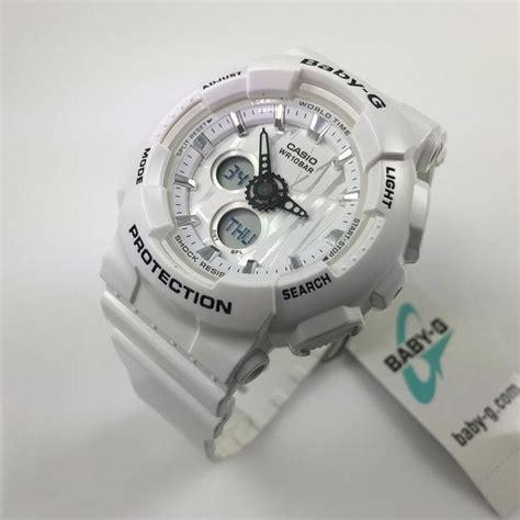 Baby G Ba120sp 7a casio baby g white analog digital ba120sp 7a
