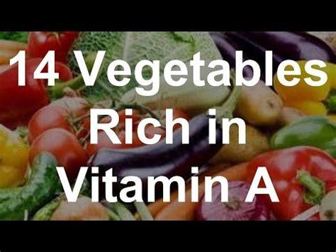 vegetables high in vitamin a 14 vegetables rich in vitamin a foods high in vitamin a