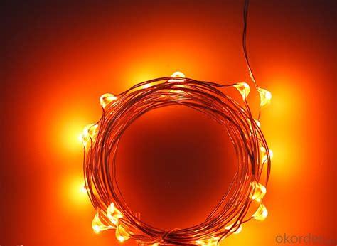 orange led string lights buy orange light led mini copper wire
