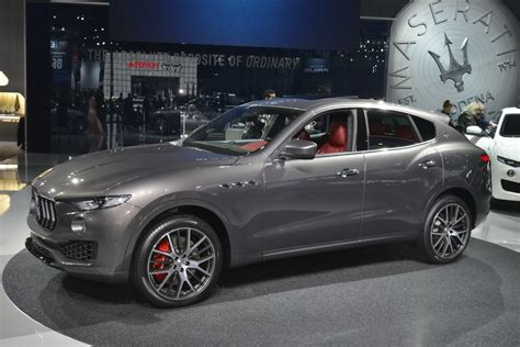 maserati kubang black the levante is the maserati of suvs yours from 72 000