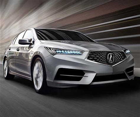 acura rlx 2015 2018 acura rlx might get a new powertrain nsx like front end