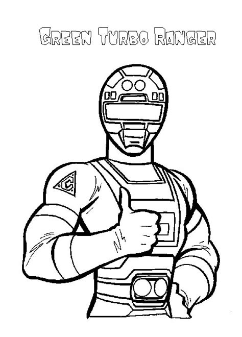 power rangers turbo coloring pages power rangers coloring pages free printable pictures