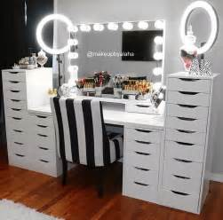 Vanity Mirror Makeup Diy 130 Adorable Makeup Table Inspirations Vanities