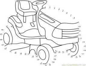 Printable Lawn Mower Coloring Pages  Designs Canvas sketch template