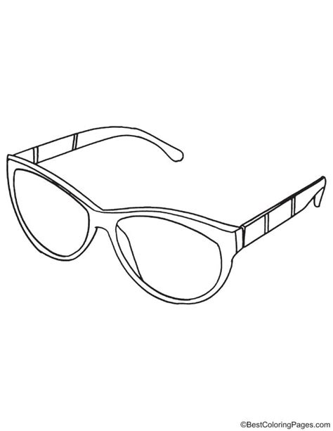 sunglasses coloring page sunglasses coloring page download free sunglasses
