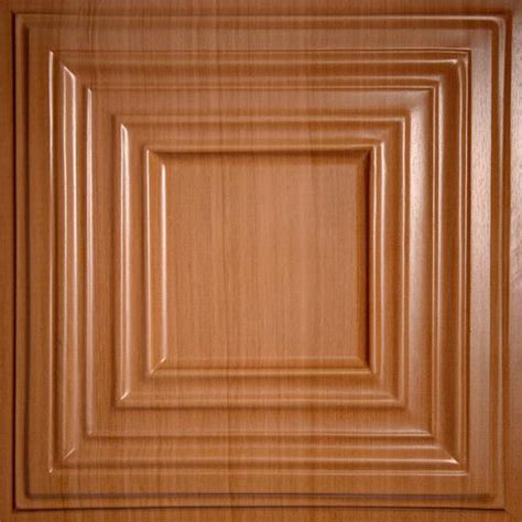 Wood Ceiling Panels Bistro Caramel Wood Ceiling Tiles