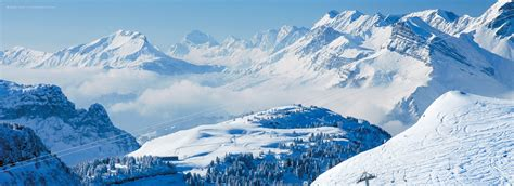 best skiing alps flaine ski resort review alps mountainpassions