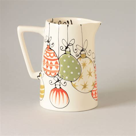 Large Jug Christmas Baubles Gallery Thea