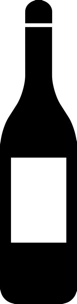 wine bottle svg wine bottle svg png icon free 58659