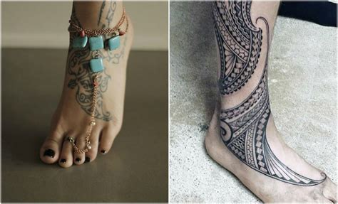 tattoos on your foot get beautiful design inked on your foot top