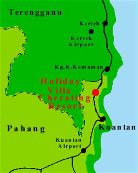 eastana cherating resort map villa resort cherating cherating pahang in malaysia