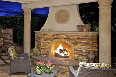 Concrete Backyard Enhance Your Outdoor Living With Unique And Inviting Fire